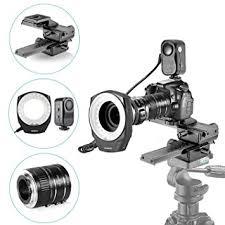 neewer macro ring led light amazon com neewer macro auto focus extension tubes set 48 marco