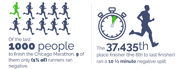 does starting a marathon slow lead to running a faster time