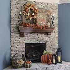 diy fall mantel decor ideas to inspire landeelu com diy fall mantel decor ideas to inspire rustic farmhouse farmhouse