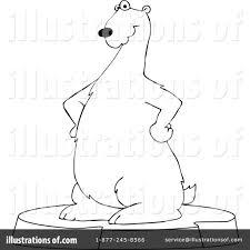 polar bear clipart 1109824 illustration by djart