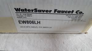 Watersaver Faucet Company Eyewash by Watersaver Faucet Company Emergency Eyewash Ew806lh Left Hand