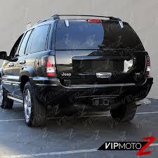 99 04 jeep grand cherokee black led tail lamps turn signal brake