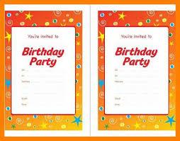 10 birthday invite layout job apply letter