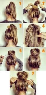 Hochsteckfrisurenen Zum Selber Machen F Schulterlanges Haar by Cele Mai Bune 25 De Idei Despre Dutt Frisuren Schulterlanges Haar