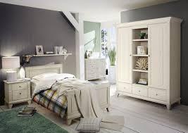 Bilder Schlafzimmer Landhausstil Schlafzimmer Georgia Single Kiefer Massiv Weiß