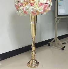flower stand no including flowerwholesale luxury stage decoration gold flower