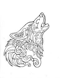 332 free howling wolf lucky978 deviantart