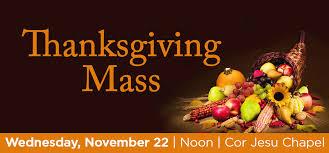 barry news thanksgiving mass