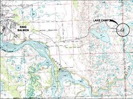 Alaska Topo Maps by Dec Contaminated Sites Program Site Summary King Salmon Lake