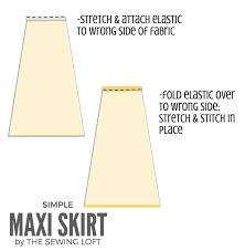 pattern for simple long skirt simple maxi skirt diy for your closet the sewing loft