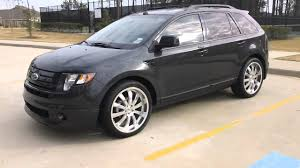 Ford Edge 2006 2007 Ford Edge Modified W Magnaflow Exhaust Youtube