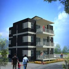 apartments three story building design three story building