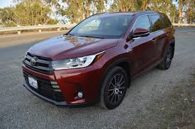 toyota awd cars 2017 toyota highlander se v6 awd review car reviews and news at