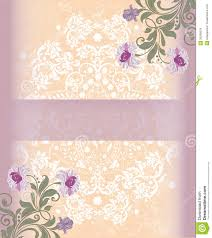 Invitation Card Templates Free Download Floral Greeting Card Template Royalty Free Stock Photos Image