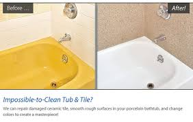 Bathtub Paint Repair Our Services Miracle Method Surface Refinishing Blog