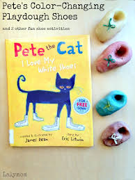 3 pete the cat shoes book extension activities lalymom