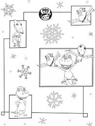 pbs kids holiday coloring pages u0026 printables happy holidays