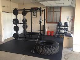 garage small crossfit gym free home gym backyard garage plans