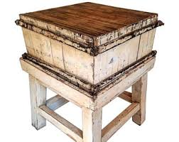 antique french butcher table butchers block etsy