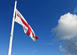 Englands Flag England Flag Against Blue Sky Free Stock Photo Public Domain