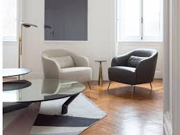 Upholstered Armchair by Isabel Leather Armchair By Minimomassimo