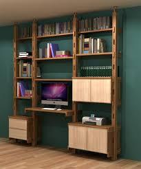 bibliothèque avec bureau intégré bibliothèque bureau modulable 50 90 70 flex bureau modulable