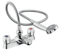 armitage shanks sandringham chrome bath shower mixer tap armitage shanks sandringham chrome bath shower mixer tap departments diy at b q