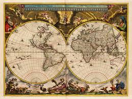 Us World Map by World Map 1664 Blaeu Nova Et Accuratissima Battlemaps Us