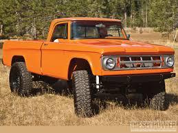 Dodge Ram Orange - 1968 dodge w200 vitamin c diesel power magazine