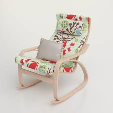 Rocker Cushions Furniture Beautiful Ikea Rocking Chair With Cool Poang Chair