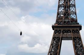 A Free Zip Line Has Opened At The Eiffel Tower