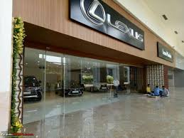 lexus india luxury car maker lexus opens its first dealership in mumbai to