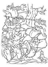 goblins from gummi bears coloring pages for kids printable free