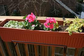 deck rail planter box what is deck rail planters u2013 cement patio