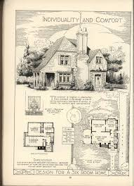 French Cottage Floor Plans 305 Best House Plans Images On Pinterest Vintage Houses