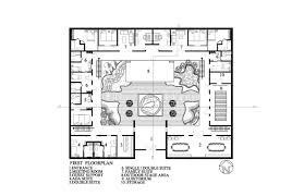 homes with interior courtyards plans u2013 house plan 2017