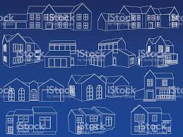 home blueprint collection stock vector art 165488542 istock