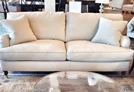 comfy sofa the search for a comfy couch our tufted sofa four generations