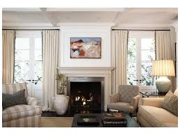 stupendous fireplace surround by windows cottage living room floor