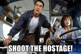 Keanu Reeves Meme Generator - shoot the hostage speed keanu reeves meme generator