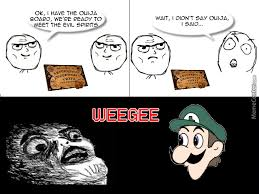 Weegee Memes - weegee intensifies by theevilchest meme center