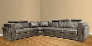 sectional sofa india buy corner sectional sofa with lounger with leatherette