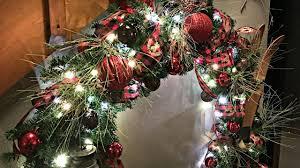 oversized northwoods christmas wreath christmas tree alternative