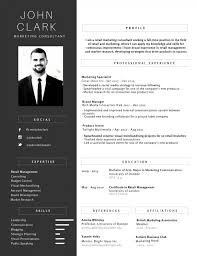 Best Resume Graphic by 50 Most Professional Editable Resume Templates For Jobseekers