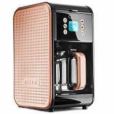 Bella Diamond Toaster Dots Collection 2 0 12 Cup Programmable Coffee Maker Black And