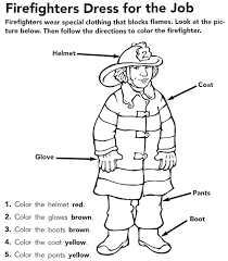 firefighter coloring fire fighters