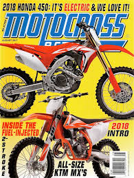 motocross action magazine website have you seen the new mxa august out now aesenal mx