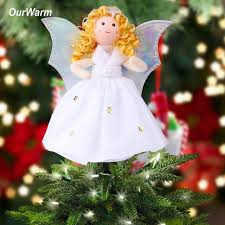christmas tree angel ourwarm christmas angel christmas tree toppers guardian angel