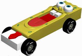 pinewood derby car design spongebob