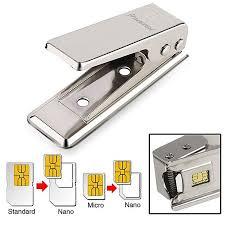 insten micro standard to nano sim card cutter for iphone 5 5s 5c